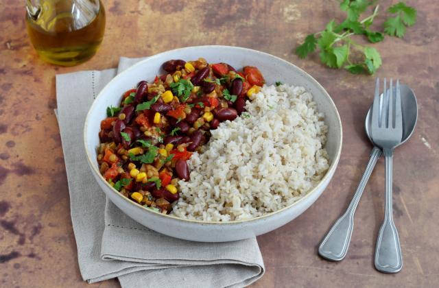 Chili Con Carne Végétarien